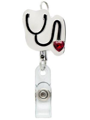 Retractable Stethoscope Badge Reel