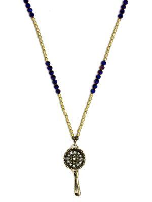 Purple Mandala Lanyard