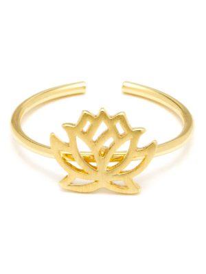 Dainty Lotus Ring