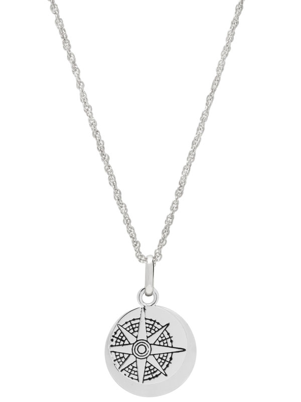 """Hidden Message Necklace – """"I Am Exactly Where I Am Supposed To Be"""""""
