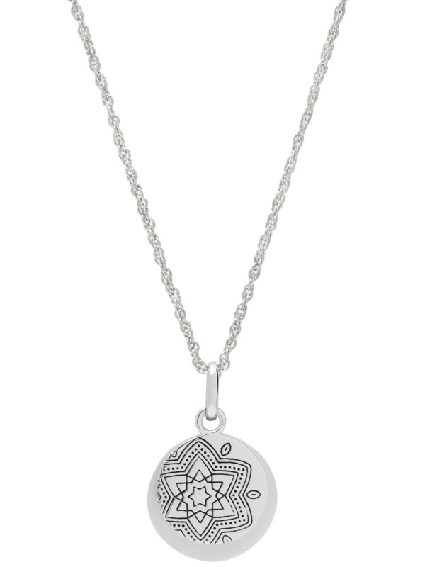 """Hidden Message Necklace – """"Everything Happens For A Reason."""""""