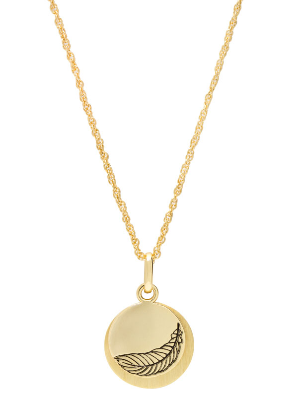 """Hidden Message Necklace – """"Be Mindful"""""""