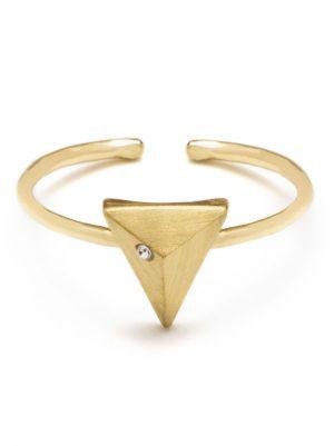Dainty Pyramid Ring
