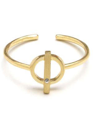 Dainty Circle Ring