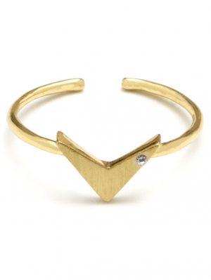 Dainty Arrow Ring
