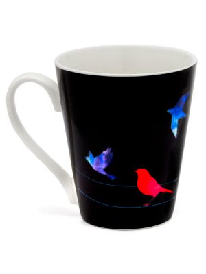 "Color-Changing Mantra Mug – ""Find the courage to let go of what you cannot change."""