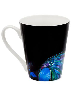 "Color-Changing Mantra Mug – ""Life is tough my darling, but so are you."""