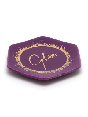 "Purple Metallic Trinket Tray – ""Glam"""