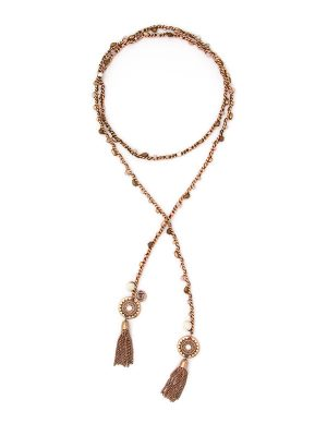 Beaded Essential Oil Lariat Necklace