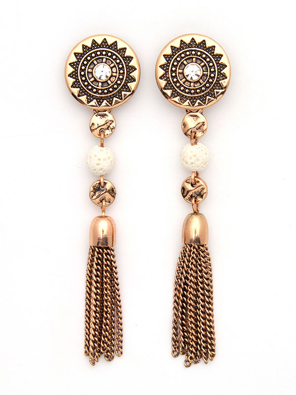 Rose Gold Convertible Essential Oil Earrings