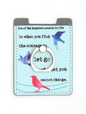 "Mantra Phone Ring – ""Find the courage to let go of what you cannot change."""