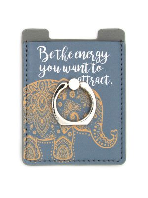 "Mantra Phone Ring – ""Be the energy you want to attract."""