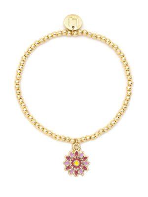 Gerbera Daisy Blooming Bracelet