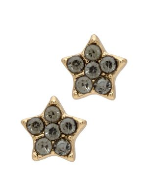 6 Crystal Star Stud Earrings