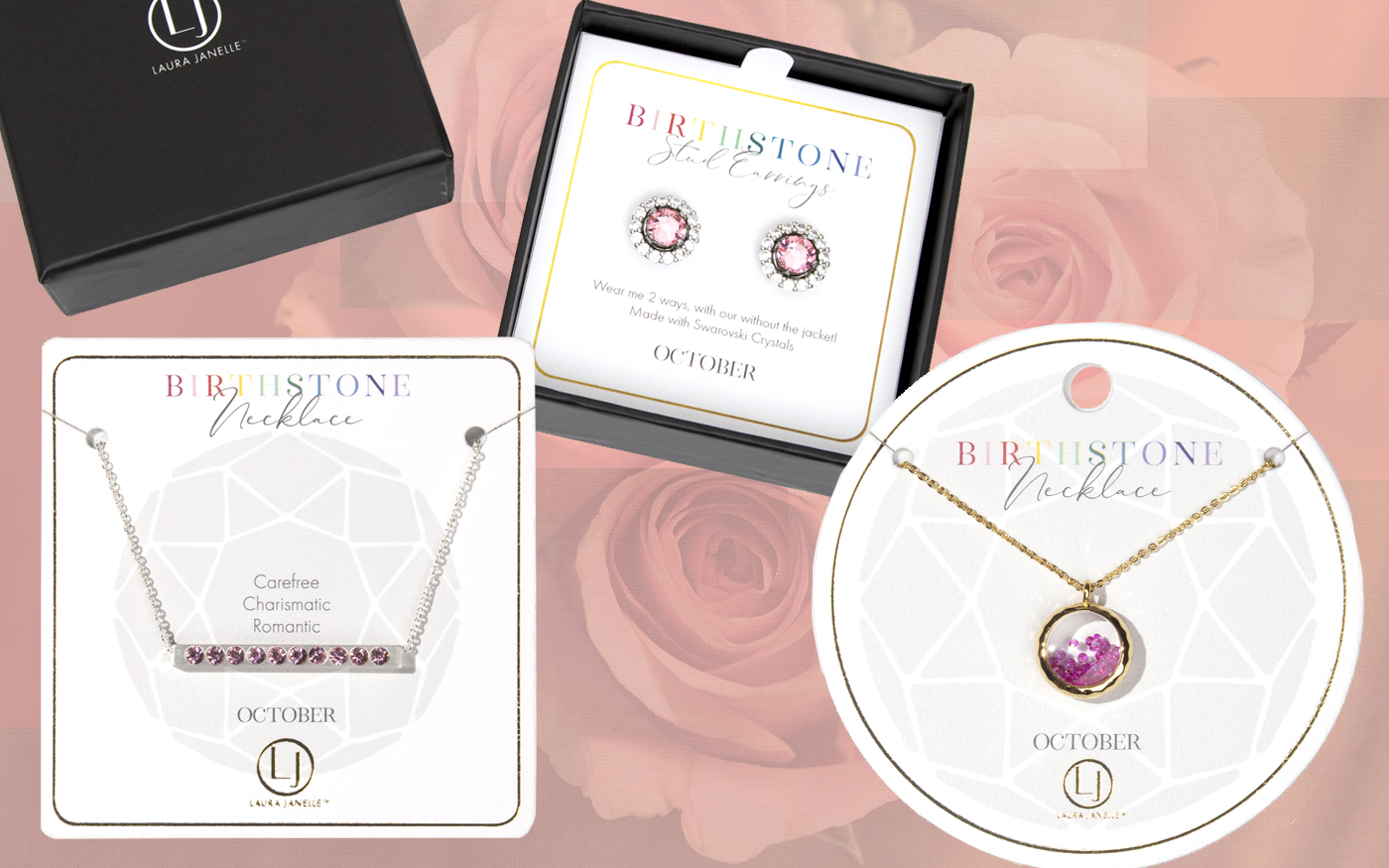 Birthstone Jewelry for Bridesmaids Gifts Under 20