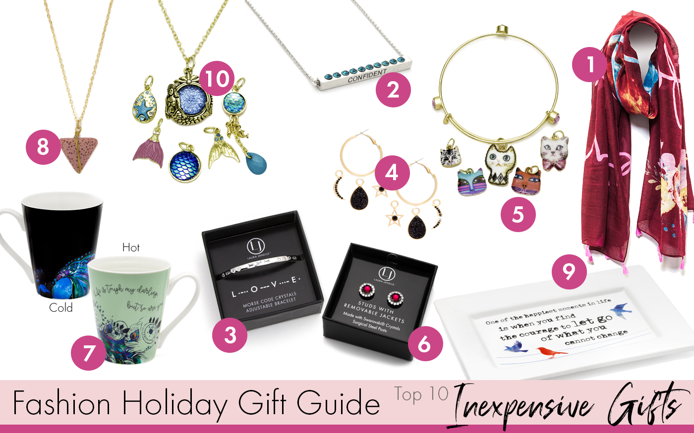 Fashion Holiday Gift Guide – Top 10 Inexpensive Gifts