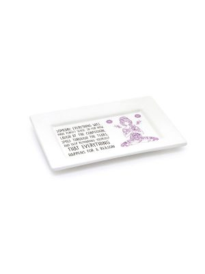 """Mantra Tray – """"Everything Happens For A Reason."""""""