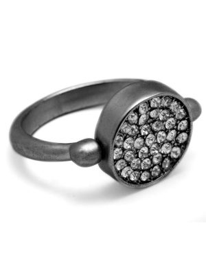Reversible Pavé Ring