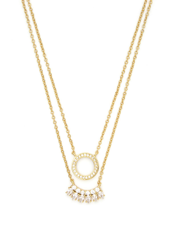 Endless Sparkle Stacking Necklaces