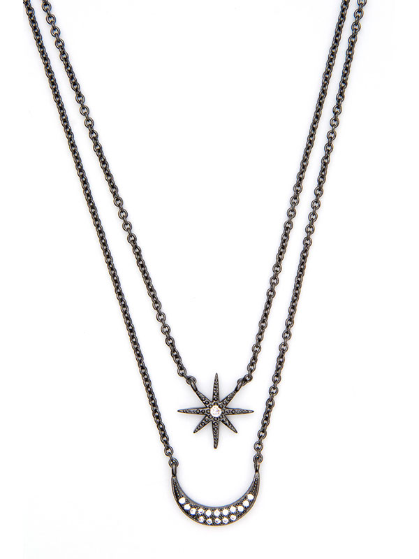 Celestial Stacking Necklaces