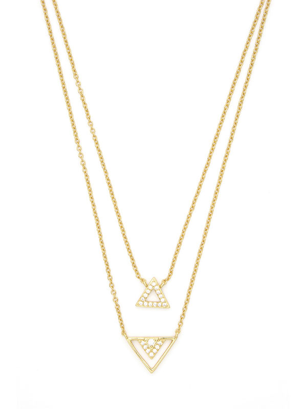 Geo Stacking Necklaces