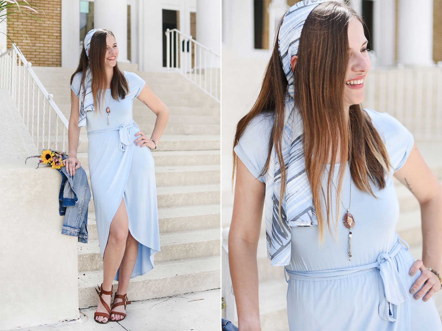 How to Style a Belted Maxi Dress for Day and Night